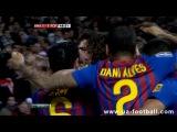 Реал Мадрид - Барселона 1:2 Кубок короля 1/4 финала 2011-12 (Первая игра)